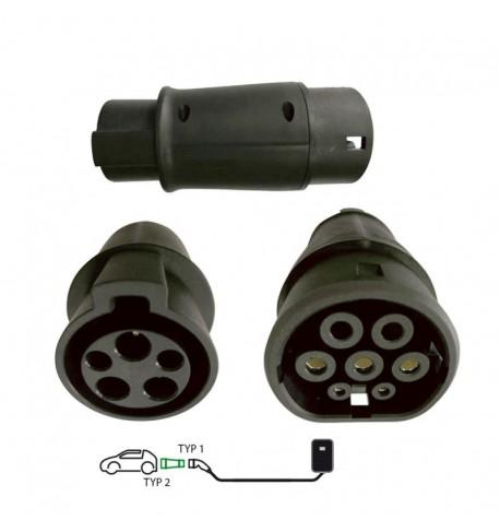 elektromos-auto-tolto-adapter-type2-es-autokhoz-type1-type2-